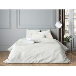 Mistral home Mistral Home povlečení bavlněný satén Paisley White 140x200/70x90cm