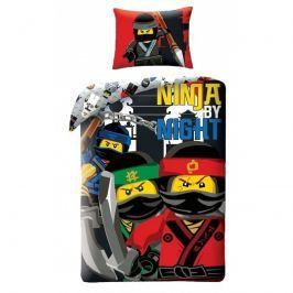 Halantex Halantex povlečení Lego Ninjago Ninja by night 140x200cm + 70x90cm