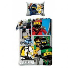 Halantex Halantex povlečení Lego Ninjago So ninja! 140x200cm + 70x90cm