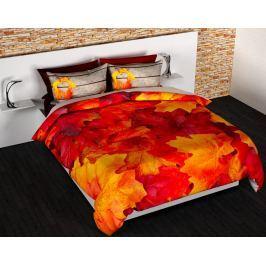 Gipetex Natural Dream 3D italské povlečení 100% bavlna Podzim - 140x200cm / 70x90cm
