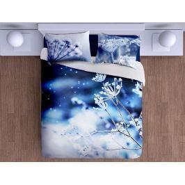 Gipetex Natural Dream 3D italské povlečení 100% bavlna Romantická zima - 140x200cm / 70x90cm