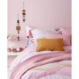 Vandyck Luxusní bavlněné povlečení VANDYCK Multiply Faded pink - 140x200-220 / 60x70 cm Ložní povlečení