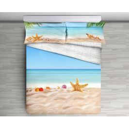 Gipetex Natural Dream 3D italské povlečení 100% bavlna Stella - 140x200 / 70x90 cm Ložní povlečení