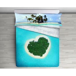 Gipetex Natural Dream 3D italské povlečení 100% bavlna Isola - 140x200 / 70x90 cm
