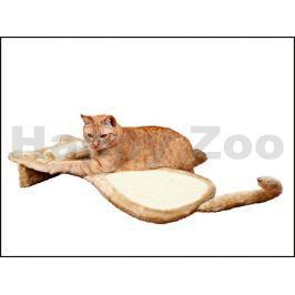 Škrábací deska s otočným válcem TRIXIE ve tvaru kočky 34x67cm