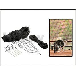 Ochranná síť pro kočky FLAMINGO černá 2x3m