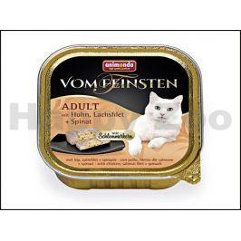 Paštika VOM FEINSTEN Core kuřecí, lososový filet a špenát 100g (