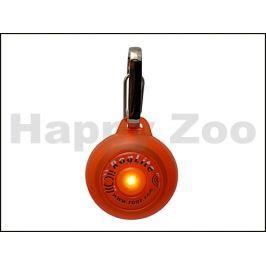 Svítící přívěšek ROGZ Roglite IDL 02 D-Orange 3,1cm