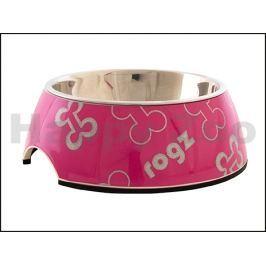 Miska ROGZ Lapz Trendy Bubble BOWL 520 K-Pink Bones (S) 160ml