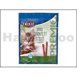 TRIXIE Premio Quintett tyčinky drůbeží/játra 5x5g