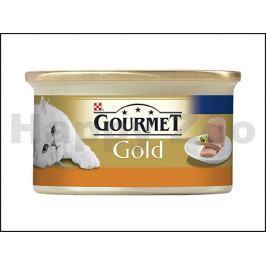 Konzerva GOURMET Gold - krůta (paštika) 85g