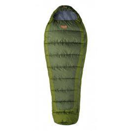 Spacák Pinguin Trekking 205 cm Barva: zelená / Zip: Levý / Velikost spacáku: 205 cm