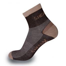Ponožky Sherpax Olympus Velikost: 39-42 / Barva: hnědá