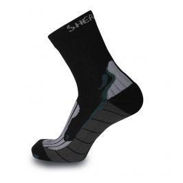 Ponožky Sherpax Denali Velikost: 35-38 / Barva: černá