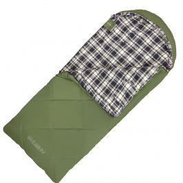 Spacák Husky Kids Galy -5°C Zip: Levý / Barva: zelená