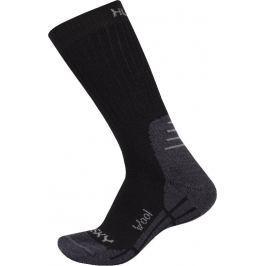 Ponožky Husky All Wool Velikost: 36 - 40 (M) / Barva: černá