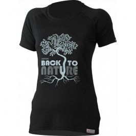 Dámské funkční triko Lasting Back Velikost: L / Barva: černá