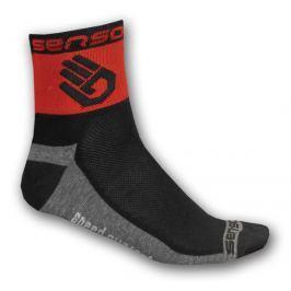 Ponožky Sensor Race Lite Ruka Velikost ponožek (EU): 39-42 (6-8) / Barva: červená