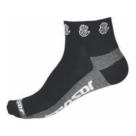 Ponožky Sensor Race Lite Ručičky Velikost ponožek (EU): 43-46 (9-11) / Barva: černá