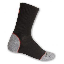 Ponožky Sensor Hiking Bambus Velikost: 35-38 (3/5) / Barva: černá/červená