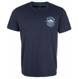 Pánské triko Loap Bley krátký rukáv Velikost: S / Barva: modrá