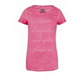 Dámské triko Loap Zubli krátký rukáv Velikost: S / Barva: růžová