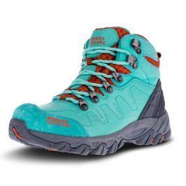 Dámské boty Nordblanc Rugged Lady Velikost bot: 39 / Barva: zelené jezero