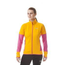 Dámská mikina Nordblanc Lust Velikost: XL(42) / Barva: oranžová