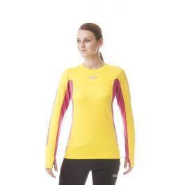 Dámské triko Nordblanc Lovable NBFLF5892 Velikost: XL (42) / Barva: žlutá