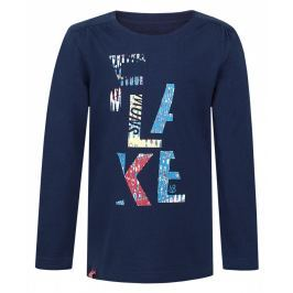 Dětské triko Loap Indie Dětská velikost: 122/128 / Barva: modrá