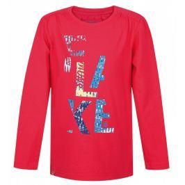 Dětské triko Loap Indie Dětská velikost: 122/128 / Barva: růžová
