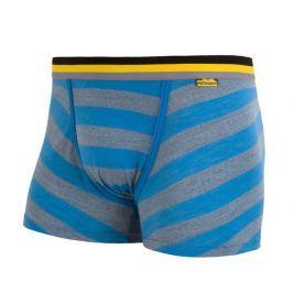 Boxerky Sensor Merino Wool Active modrý pruh Velikost: M / Barva: modrá pruhy