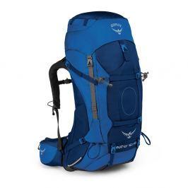 Batoh Osprey Aether AG 60 Velikost zad batohu: L / Barva: modrá