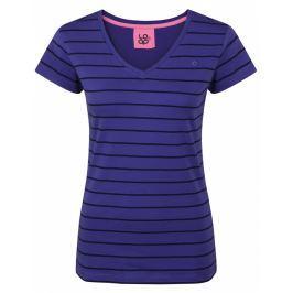 Dámské triko Loap Betana kr. rukáv Velikost: XS / Barva: fialová