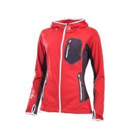 Dámská mikina Northfinder Zazriva Velikost: XL / Barva: červená