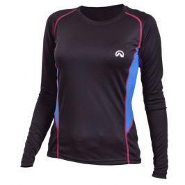 Dámské funkční triko Northfinder Jizera Velikost: XL / Barva: černá