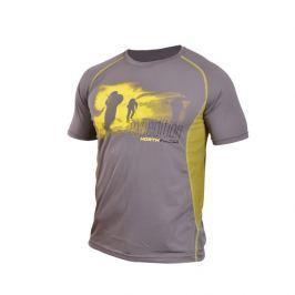 Pánské tričko Northfinder Vtacnik Velikost: S / Barva: šedá