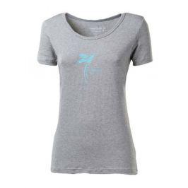 Dámské triko Progress Sasa - Ptáček Velikost: S / Barva: šedá