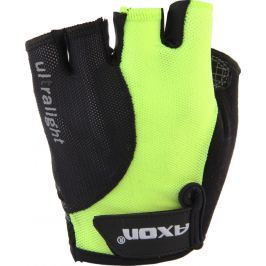 Cyklorukavice Axon 190 Velikost: XXL / Barva: žlutá