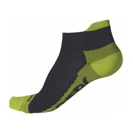 Ponožky Sensor Coolmax Invisible Velikost ponožek: 35-38 / Barva: černá/žlutá