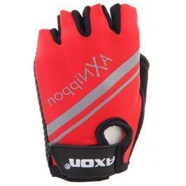 Dětské Cyklorukavice Axon 204 Velikost dětských rukavic: XS / Barva: červená