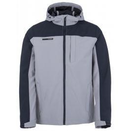 Pánská softshellová bunda Loap Lesik Velikost: L / Barva: šedá