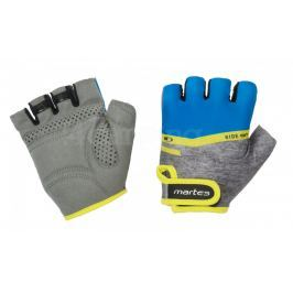 Cyklistické rukavice Martes Slay Gloves Velikost: L / Barva: šedá/modrá