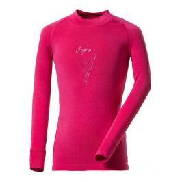 Dětské funkční triko Progress DT E NDRD 26DB Dětská velikost: 104 / Barva: růžová