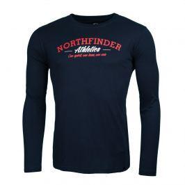 Pánské triko Northfinder Manilo Velikost: S / Barva: modrá