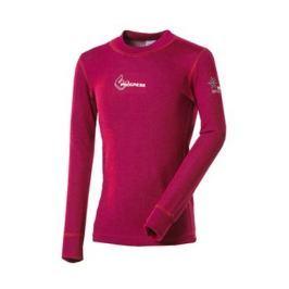 Dětské funkční triko Progress DT WS TDRD 26DK Dětská velikost: 128 / Barva: růžová