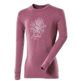 Juniorské triko Progress DT Pedro JR 26GB Květina Dětská velikost: 152 / Barva: růžová