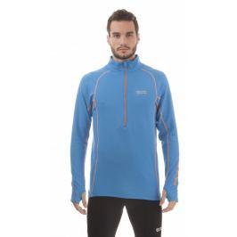 Pánské funkční triko Nordblanc Flame Velikost: XL / Barva: modrá