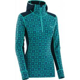 Dámské funkční triko Kari Traa Rose Hood Velikost: L / Barva: modrá