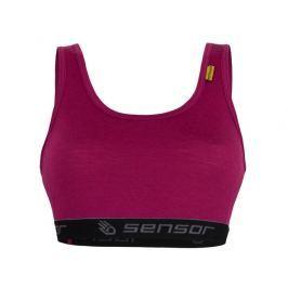 Podprsenka Sensor Merino Active Velikost podprsenky: L / Barva: fialová